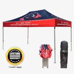 HEAVY DUTY DELUXE GAZEBO 4M X 3M BRANDED